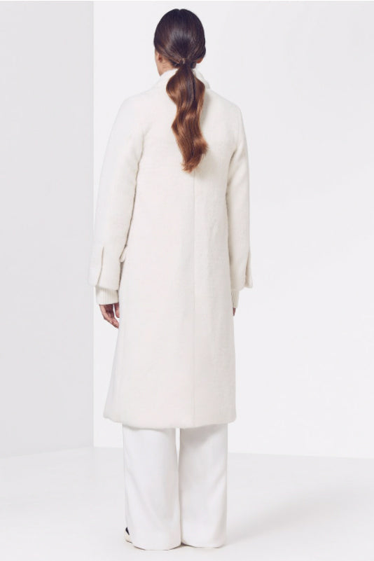 Viktoria & Woods Cardinal Coat in Ivory