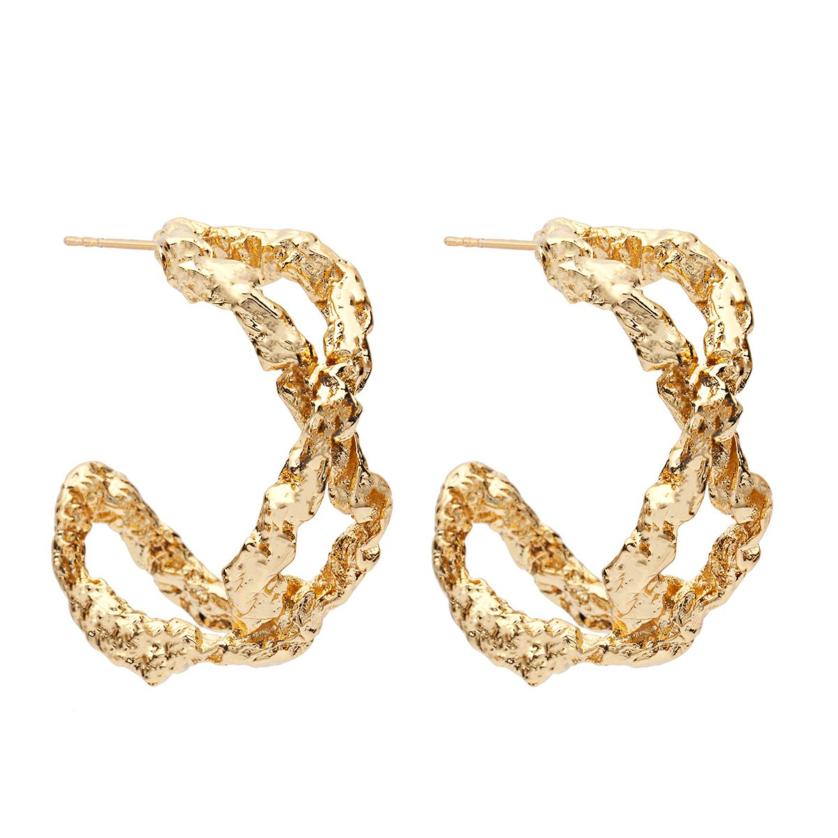 Amber Sceats Ella Earrings in Gold