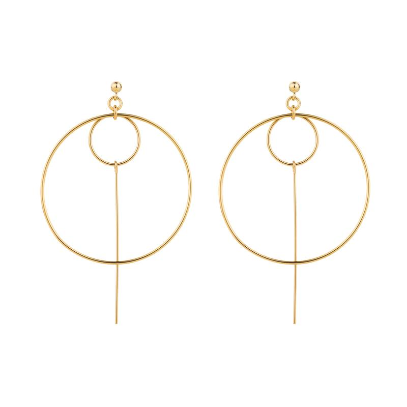 Elvis et Moi Tova Earrings in Gold