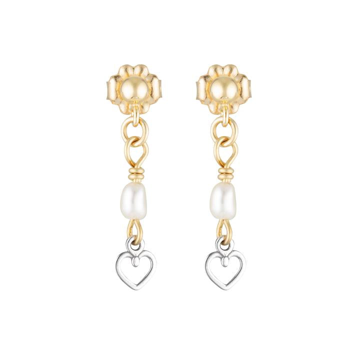 Elvis et Moi Cupidon Earrings in Gold