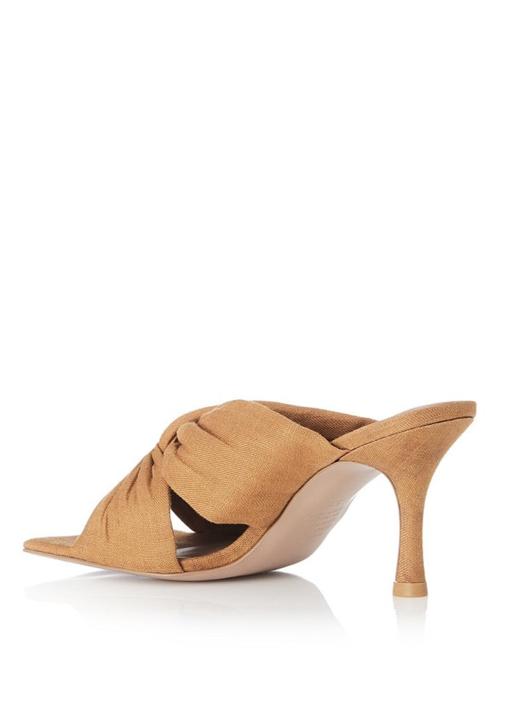 Alias Mae Flo Heel in Tan Linen