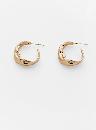 Reliquia Florence Hoops in Gold