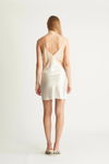 Ginia Carly Dress in Ivory/Almond