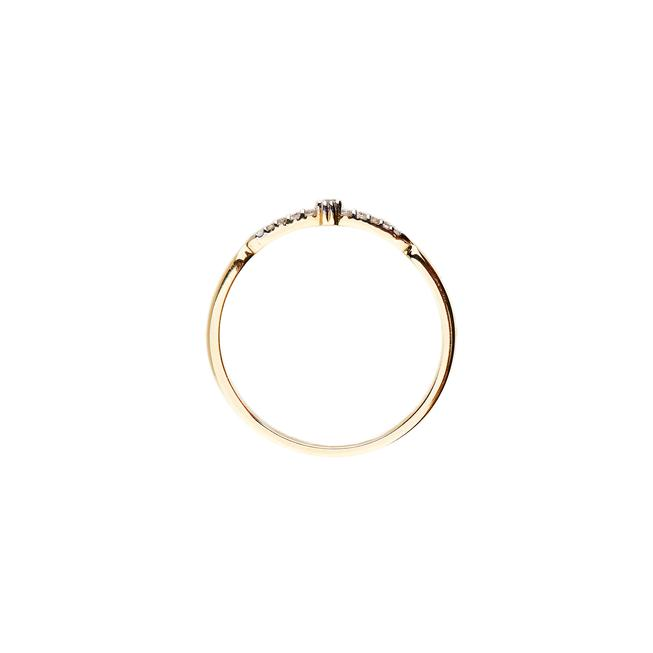 By Charlotte 9kt Celesial Light Ring in Gold