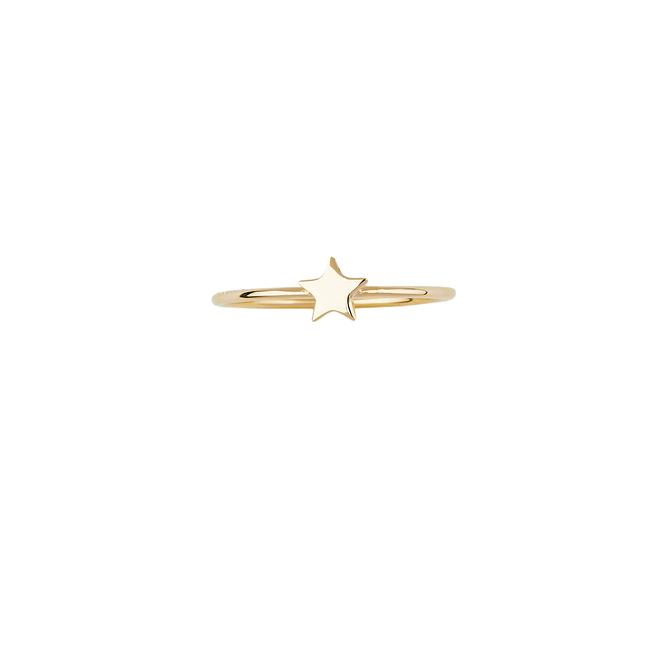 By Charlotte Gold Night Sky Ring