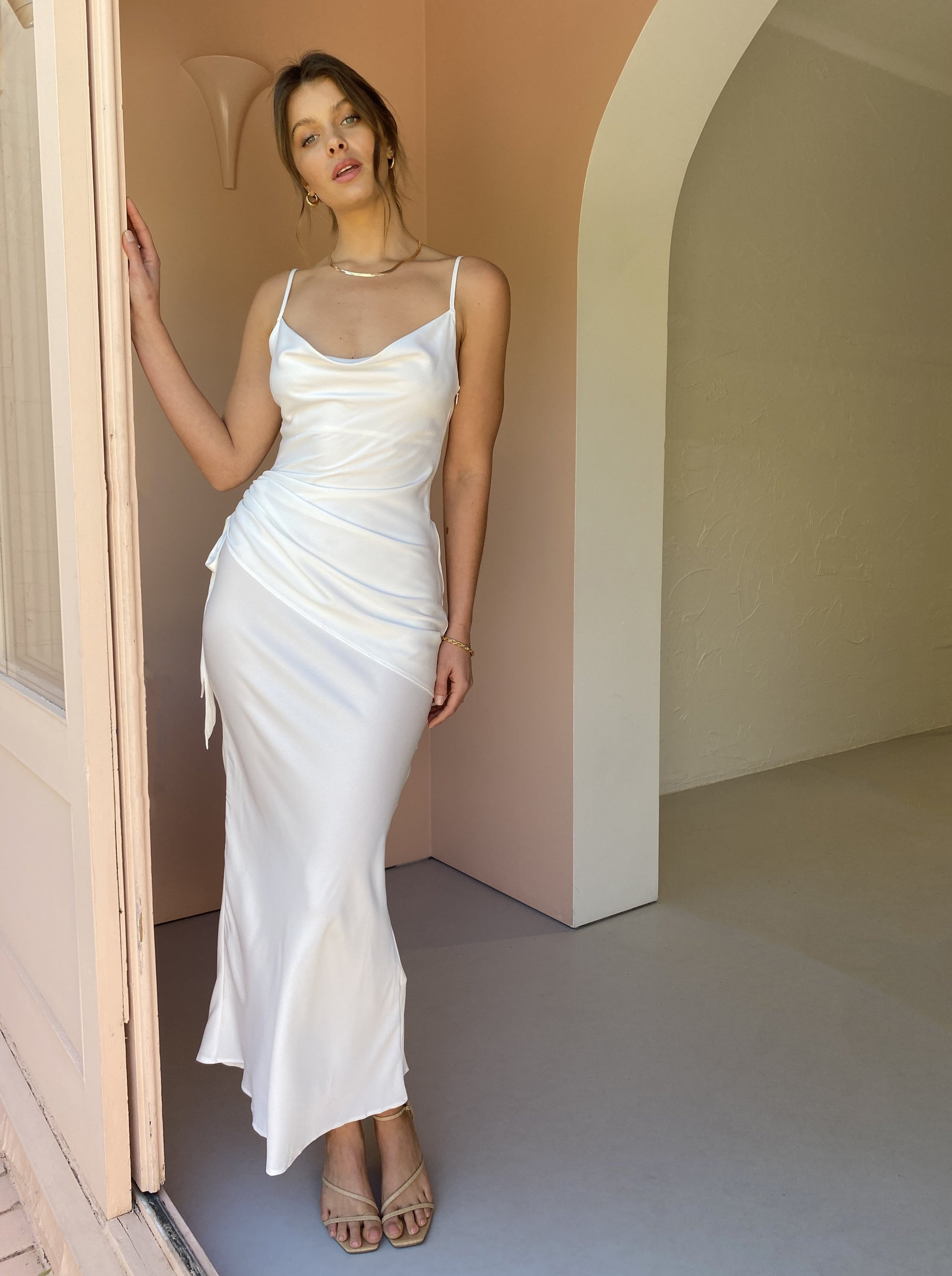 Issy Poem Dress in White