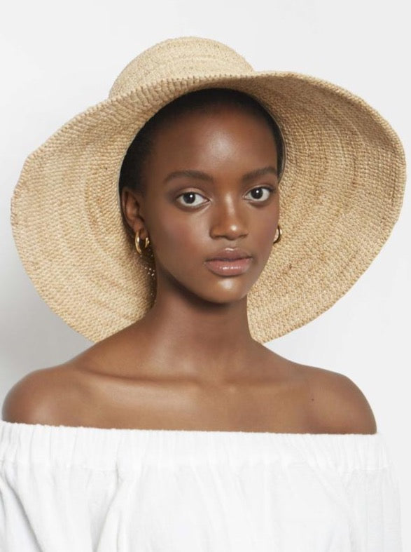 Avenue Izzy Sunhat in Natural