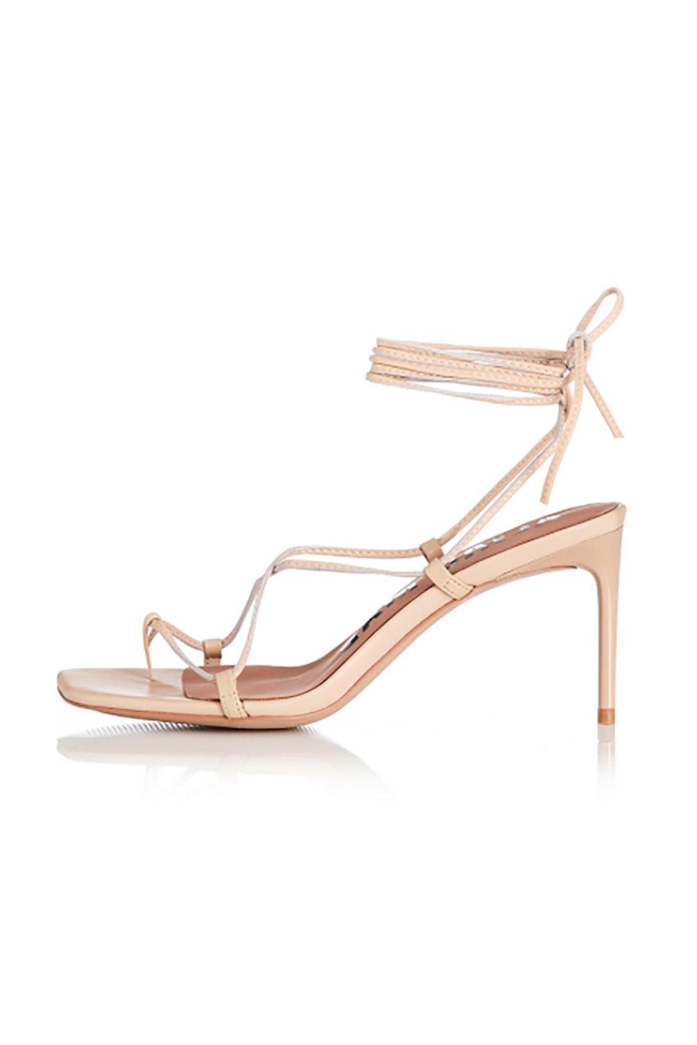 Alias Mae Inkia Heel in Natural Leather