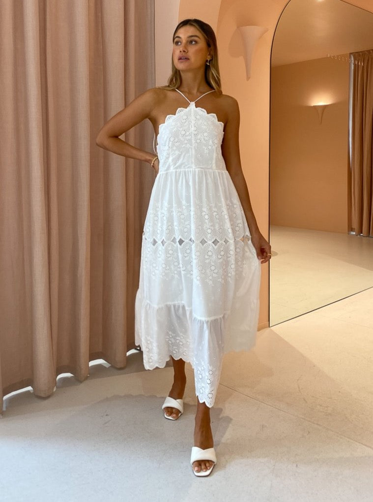 Issy Sunnyvale Dress in White