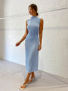 Lidee Soiree Gown in Ice Blue
