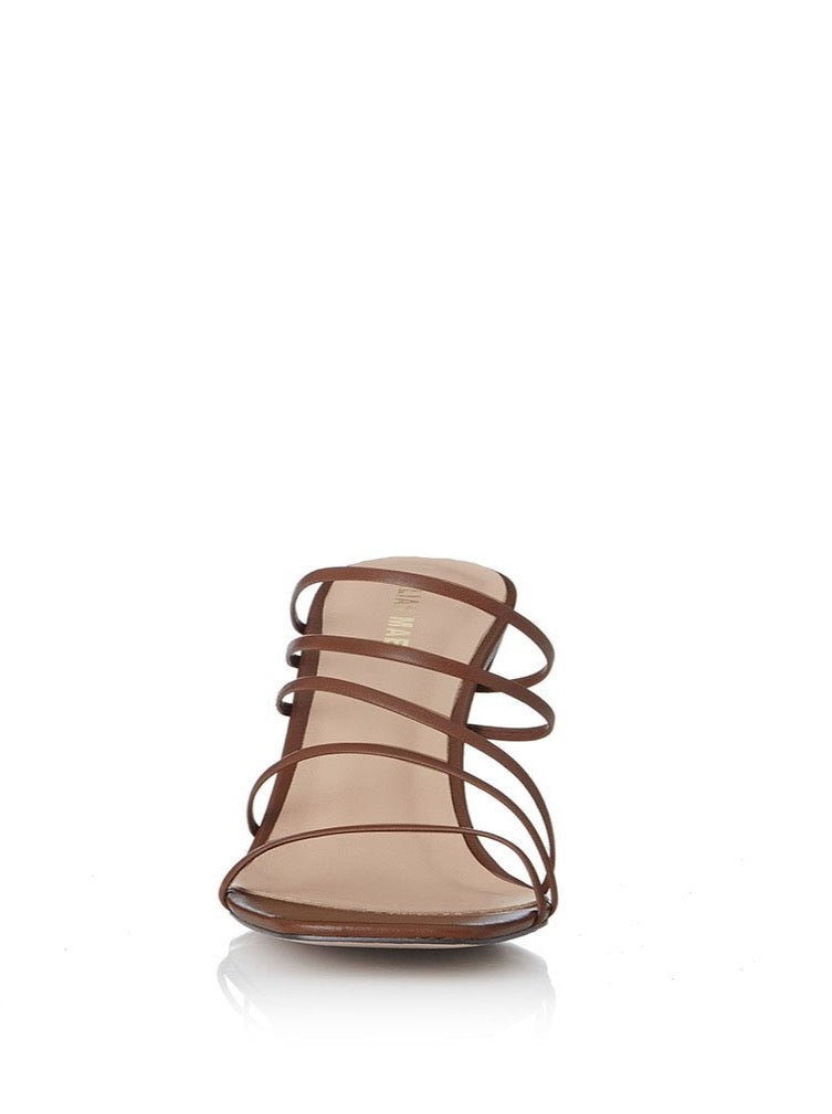 Alias Mae Lilli Heel in Mocha Leather