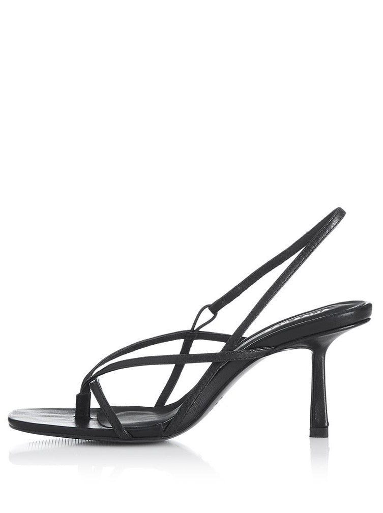 Alias Mae Lilo Heel in Black Leather