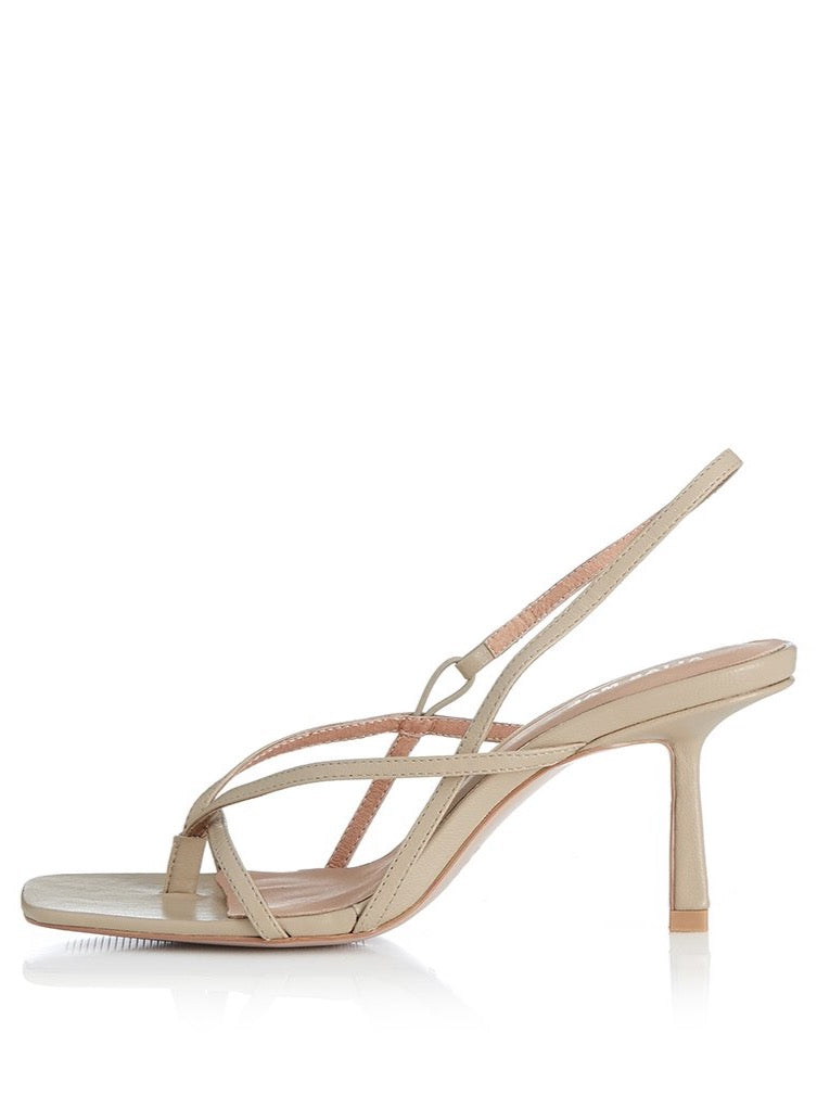 Alias Mae Lilo Heel in Natural Leather