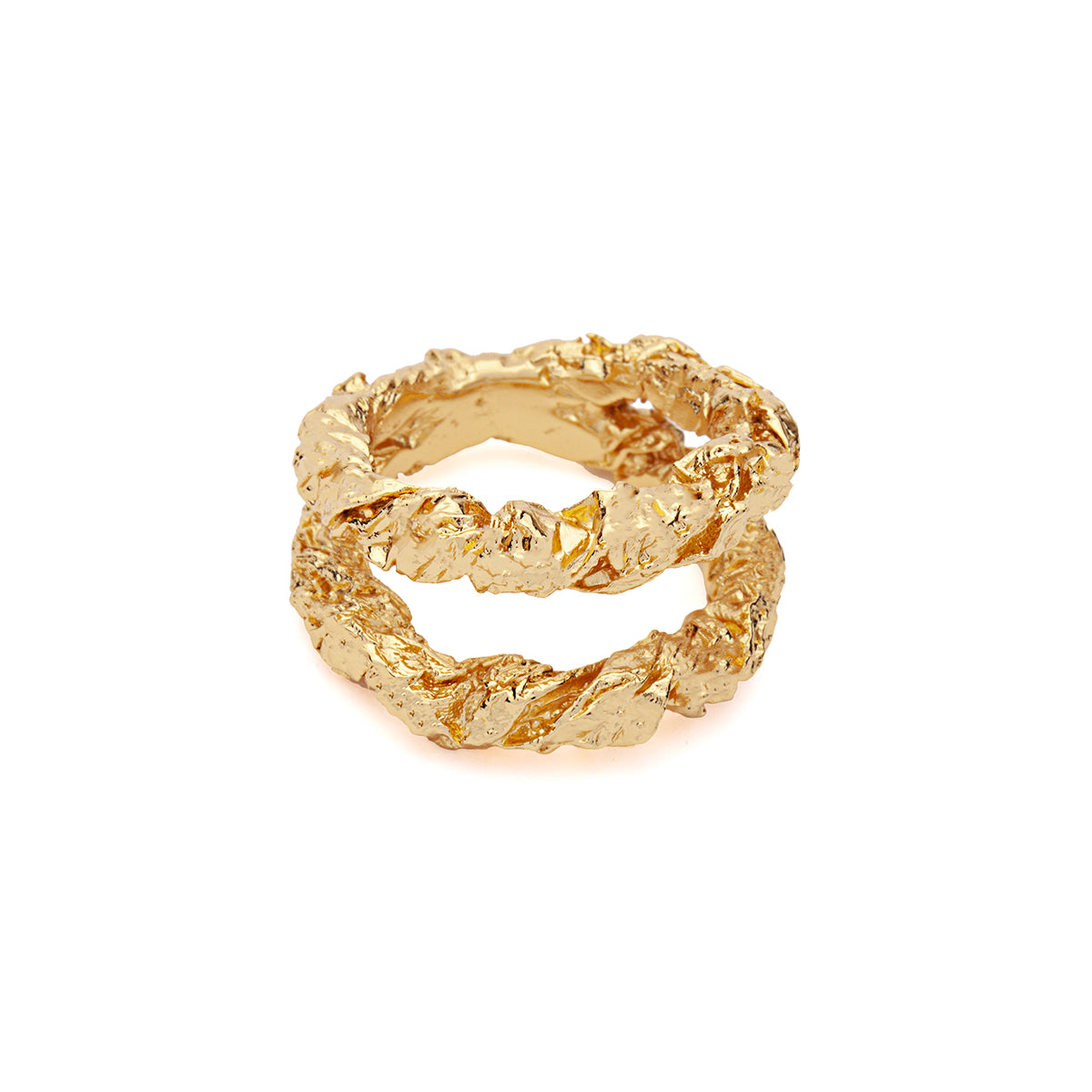 Amber Sceats Monroe Ring in Gold
