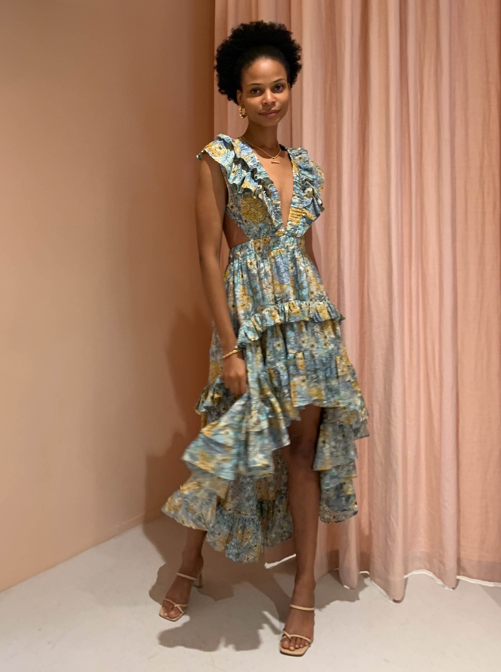 Magali Pascal Botanic Dress in Eden Print