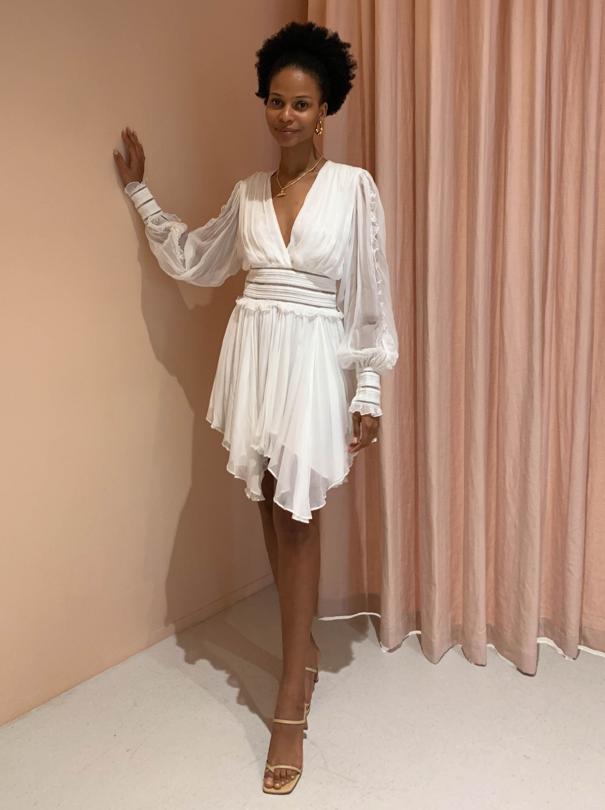 Magali Pascal Eve Dress in Off White