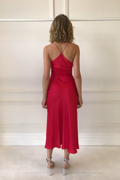 One Fell Swoop Muse Dress in Rouge
