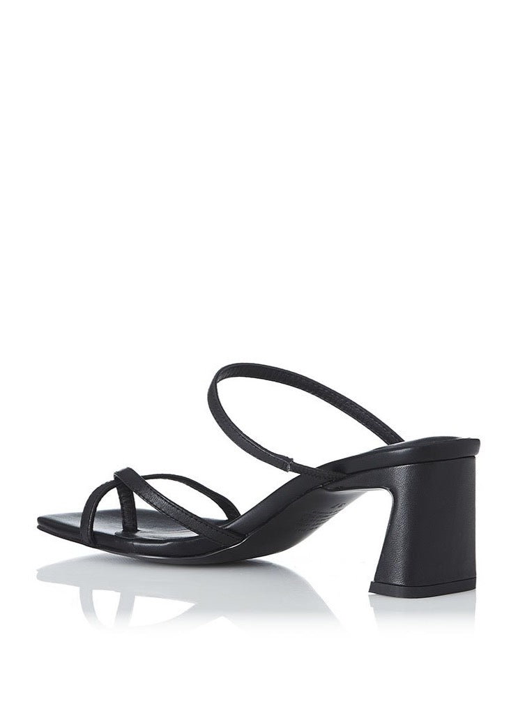 Alias Mae Nelle Heels in Black Leather