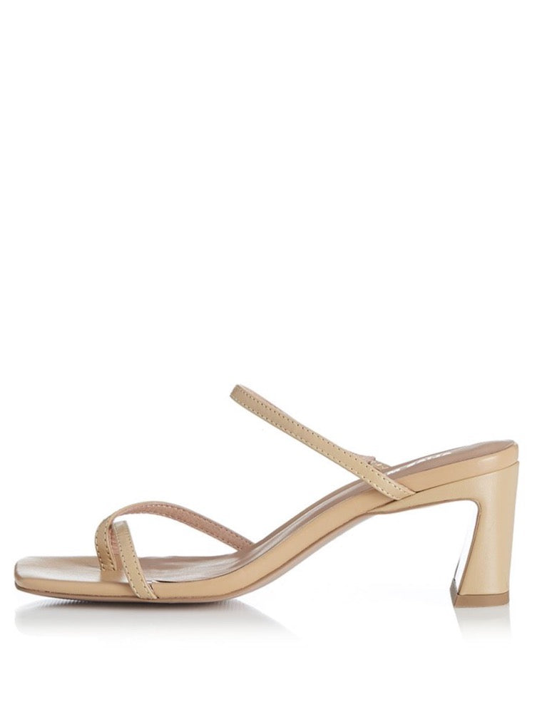 Alias Mae Nelle Heels in Natural Leather