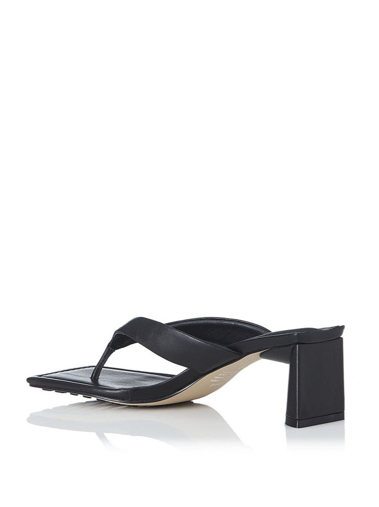 Alias Mae Noah Heel in Black Leather