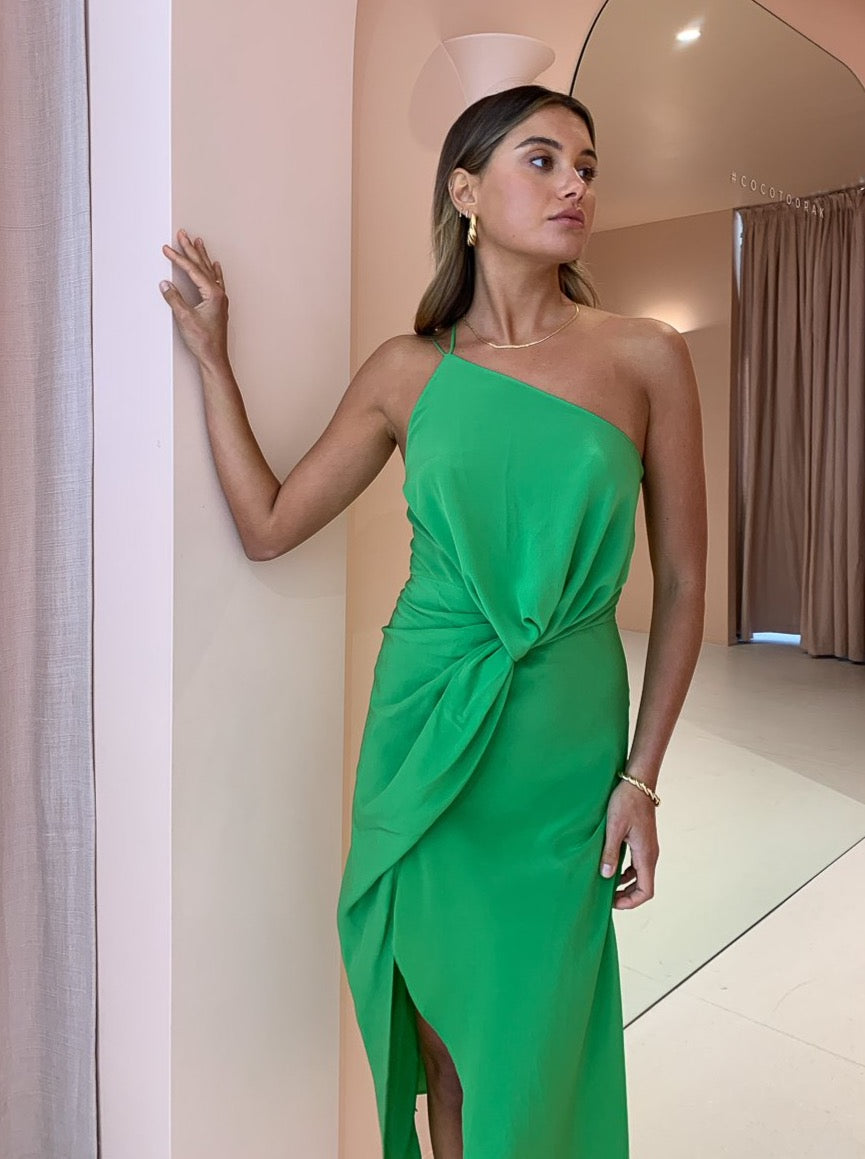 One Fell Swoop Besame Dress in Apple Silk