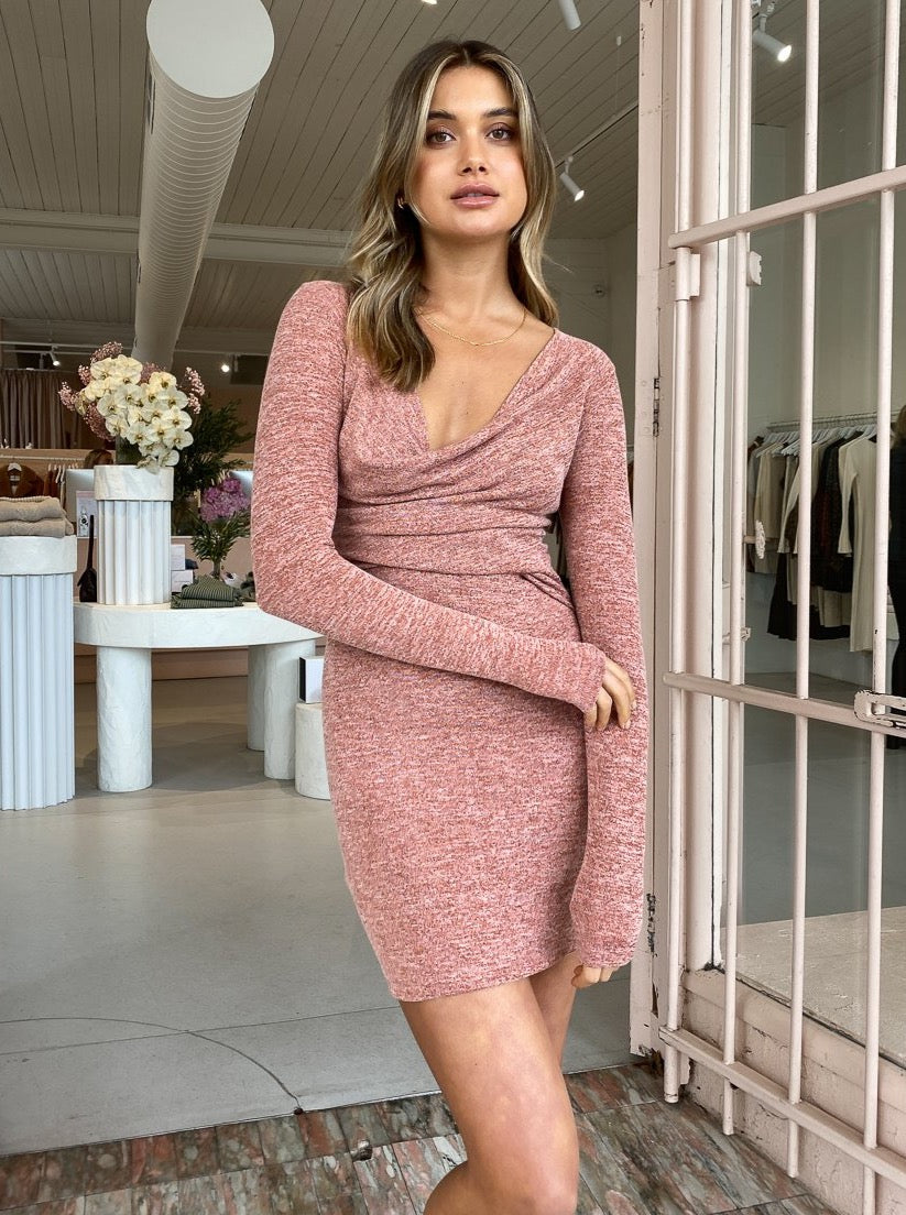 One Fell Swoop Resolute Mini Dress in Pomegranate