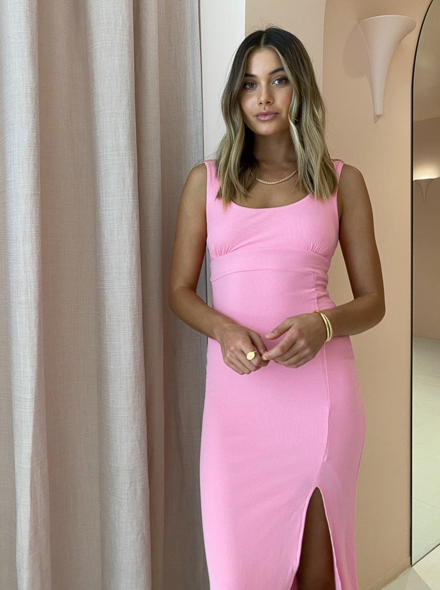 Ownley Dani Dress in Sherbert