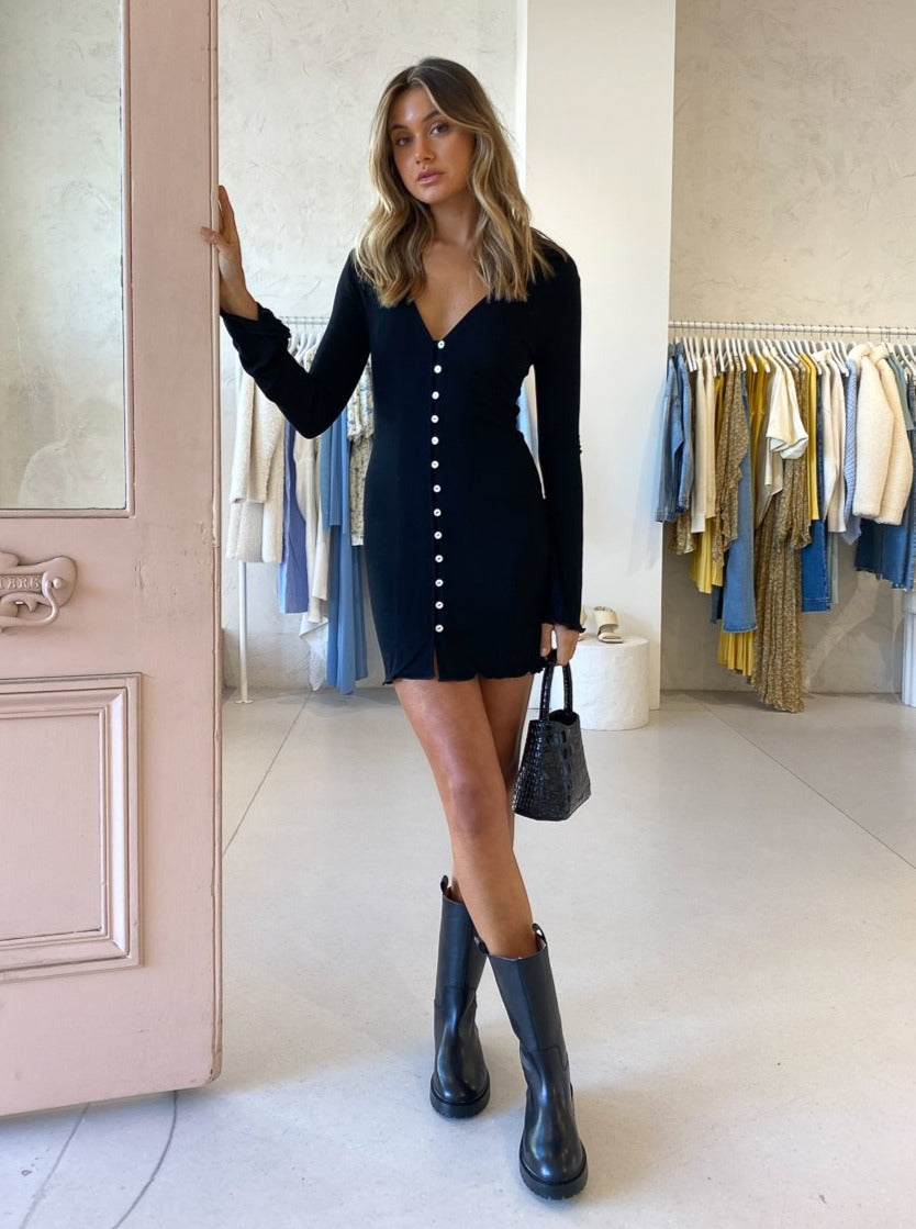 Ownley Kendall Dress In Black