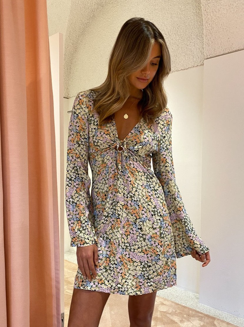 Ownley Bianco Dress In Confetti Floral