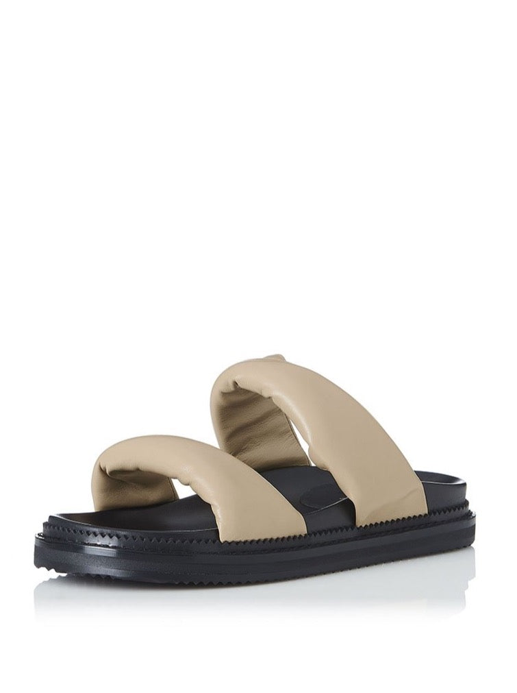 Alias Mae Paris Slide in Natural Leather