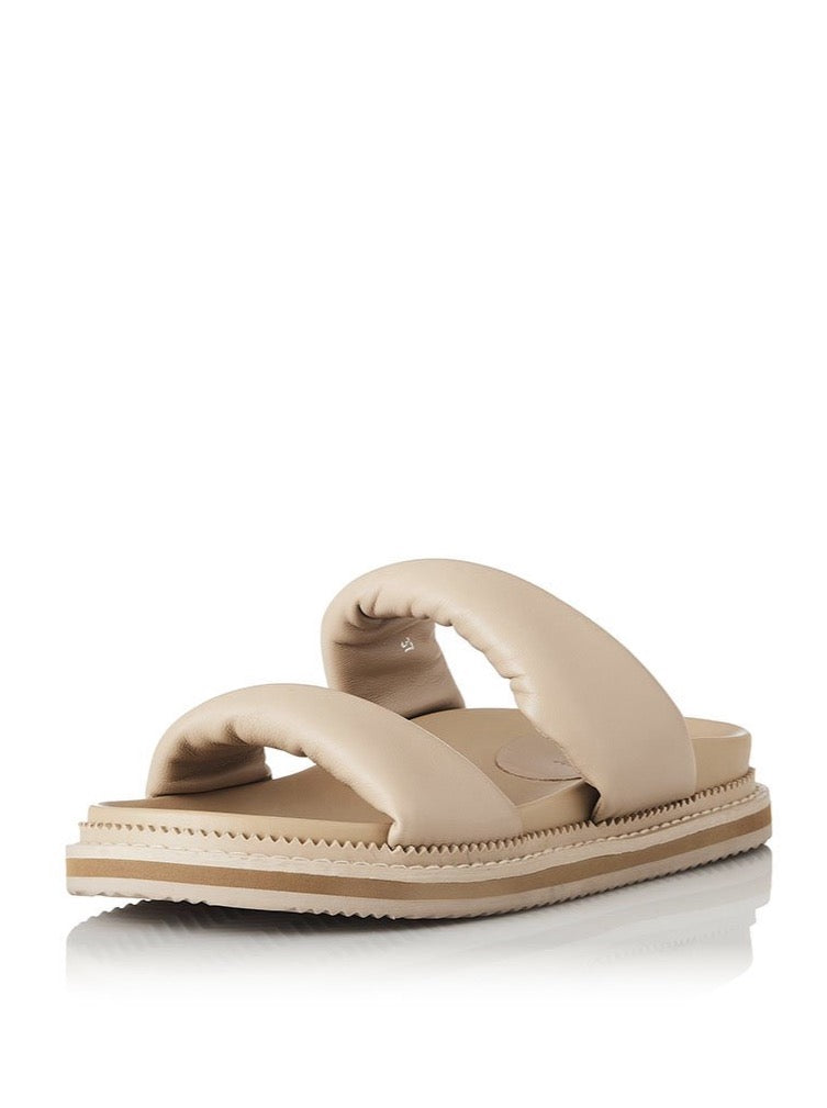 Alias Mae Paris Slides in Neutral Leather