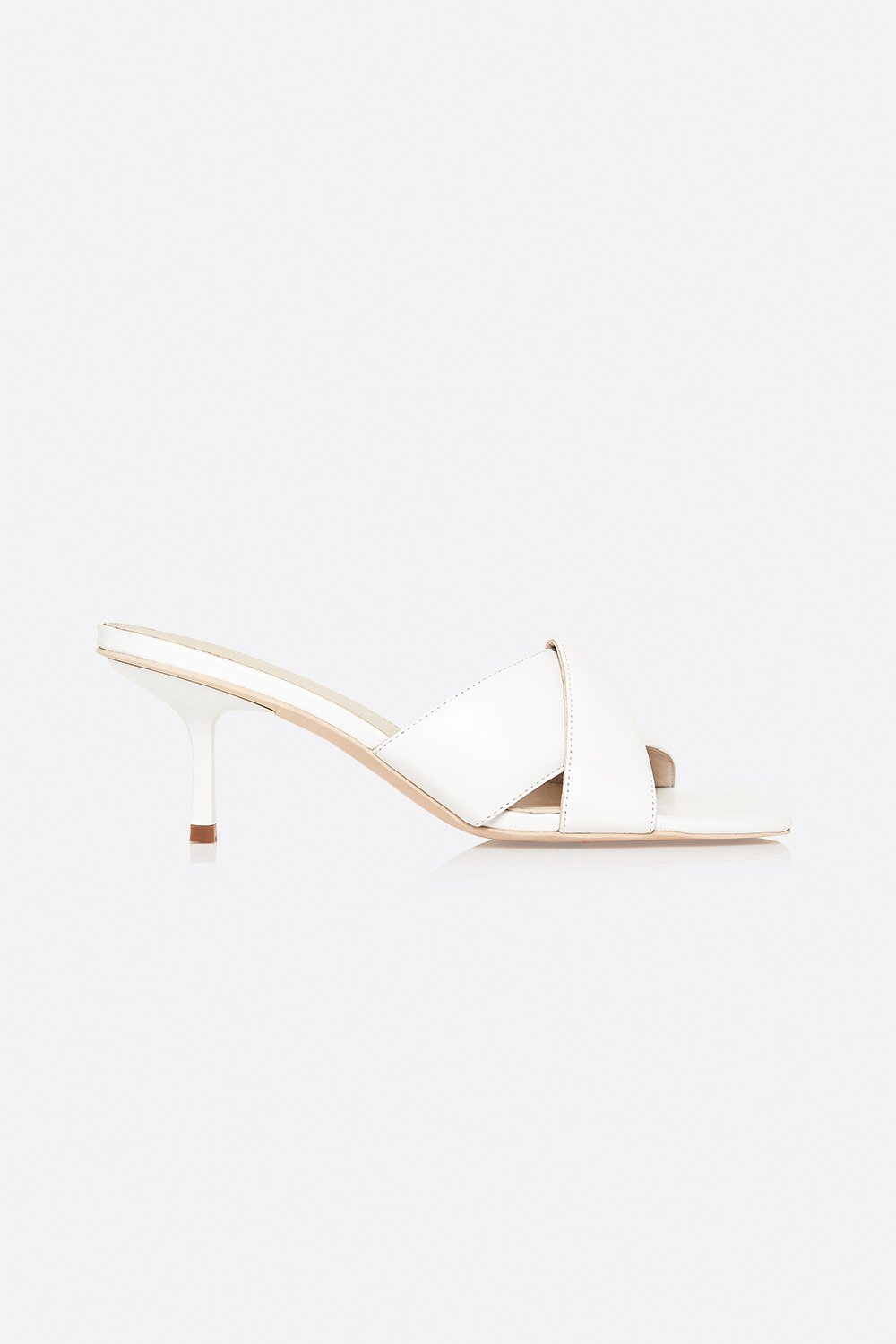 Manning Cartell Instant Gratification Padded Mule in White