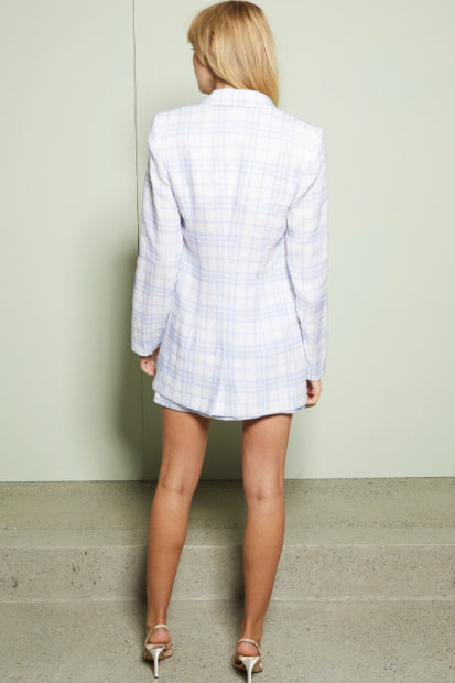 Bec & Bridge Alexa Blazer in Blue Check