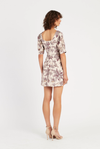 SIR Avery Tie Mini Dress in Print