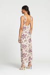 SIR Avery Maxi Slip Dress in Print