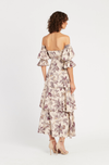 SIR Avery Cut Out Gown in Print