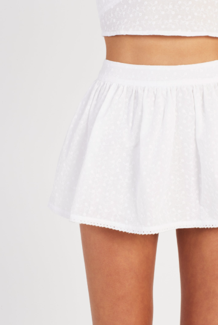 SIR Charlee Skort in Ivory