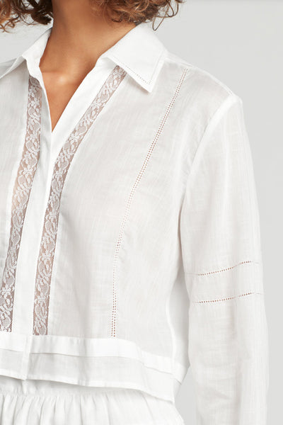 SIR Harper Shirt in Ivory