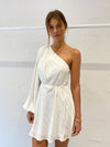 Acler Willoughby Dress in Ivory