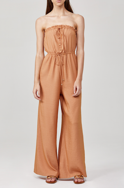 Significant Other Aquarian Jumpsuit in Amber Stripe