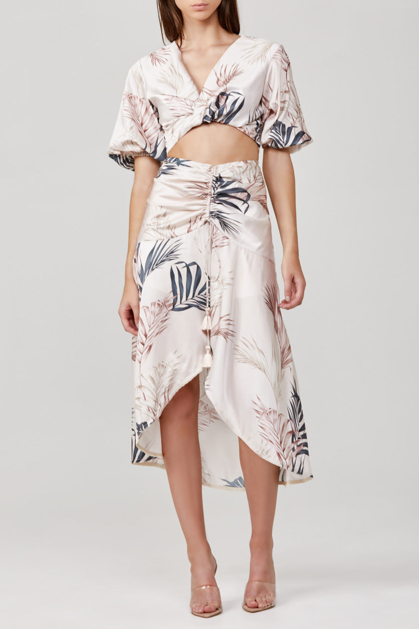 Significant Other Nowhere Skirt in Light Palm