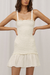 Steele Samba Dress in Blanc