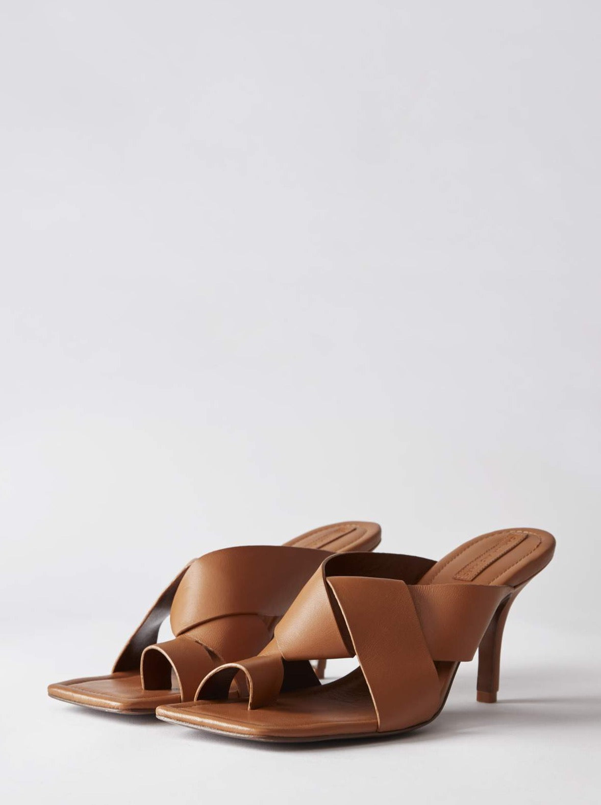 Camilla and Marc Janis Mule in Tan