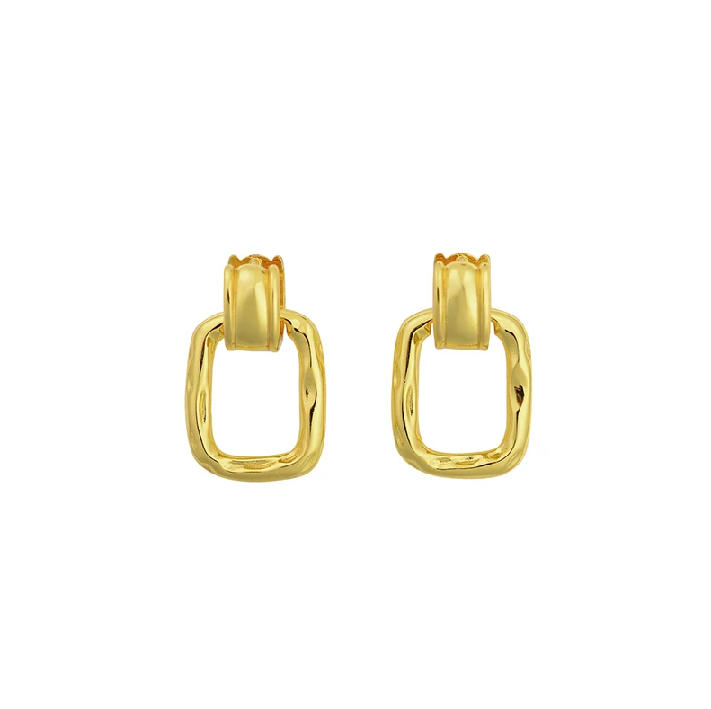 Brie Leon Clasica Earrings in Gold