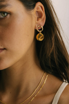 Brie Leon Granada Disc Earring in Gold
