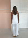 Third Form Double Up Jumpsuit in Off White