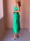 Bec & Bridge Loren Midi Dress in Emerald