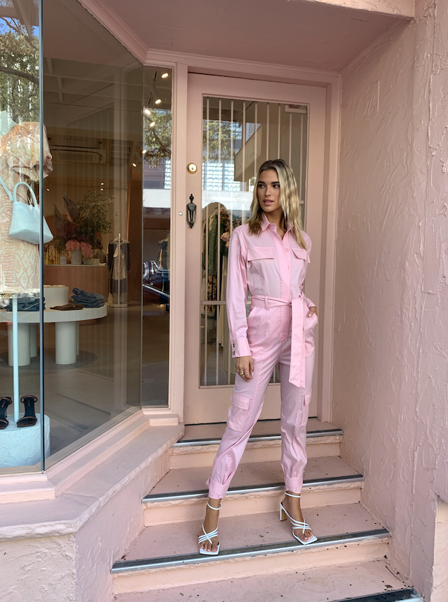 Manning Cartell Victory Lap Jumpsuit in Pink