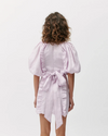Joslin Annabella Linen Ramie Dress in Lilac Beaujolais