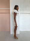 Acler Raven Dress in Ivory